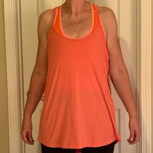 Brand New Glyder Coral Free Floe Tank Top! NWT!